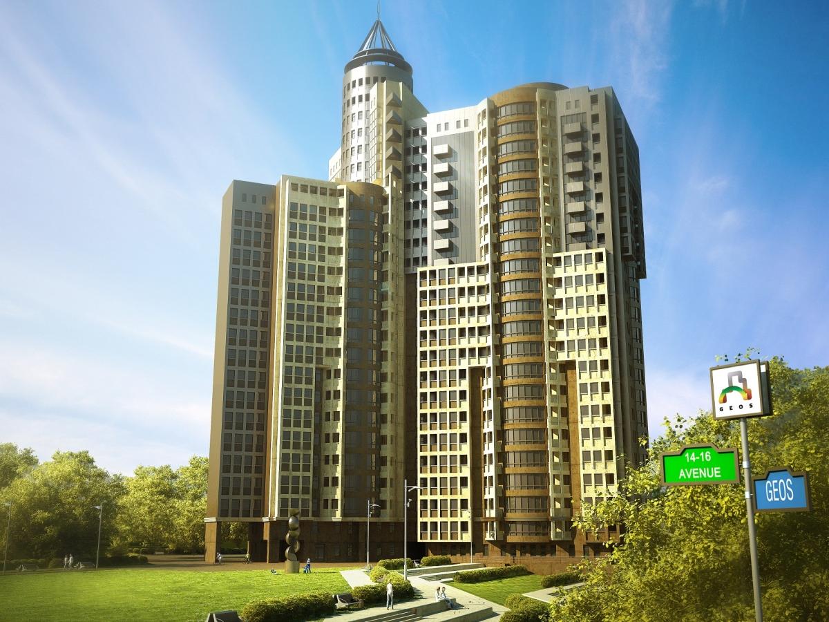 Фото Жилой комплекс Avenue 14-16 в Украина, г. Киев,  бул. Дружбы Народов, 14-16