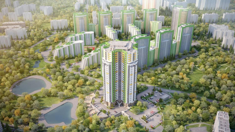 Фото Жилой комплекс Паркова Вежа в Украина, г. Киев, ул. Краснопольская, 2Г
